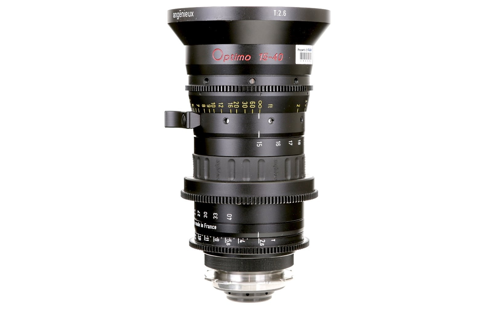 ZOOM ANGENIEUX OPTIMO 15-40 mm T 2.6