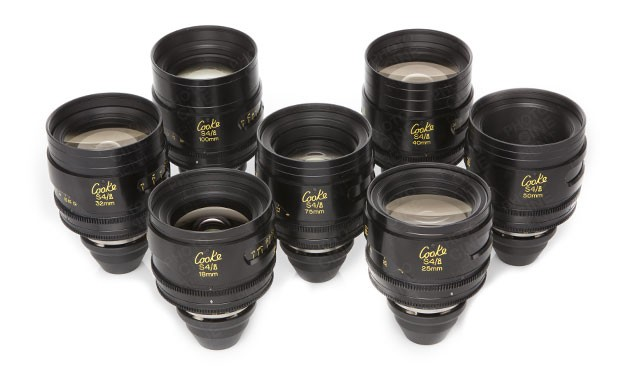 Set Opticas Cooke S4 T 2.0