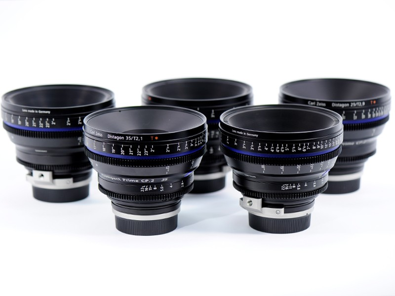Set 7 Opticas Compact Prime CP.2 Super Speed Zeiss