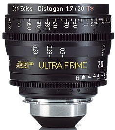 Óptica Arri/Zeiss Ultraprime T1.9 20 mm