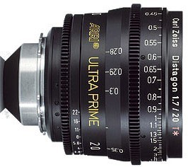 Óptica Arri/Zeiss Ultraprime T1.9 28 mm