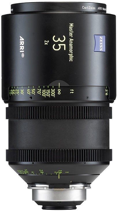 Optica Arri Master Anamorfica 35 mm
