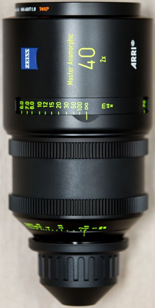Optica Arri Master Anamorfica 40 mm
