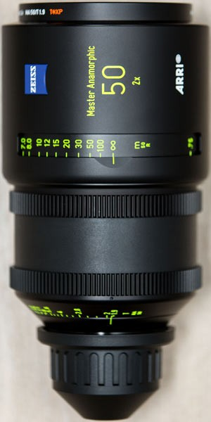 Optica Arri Master Anamorfica 50 mm