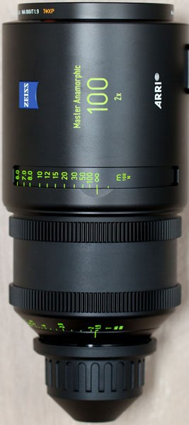 Optica Arri Master Anamorfica 100 mm