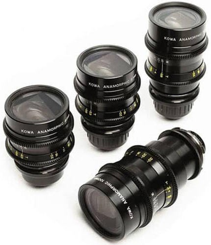 Set opticas Kowa Anamorphic