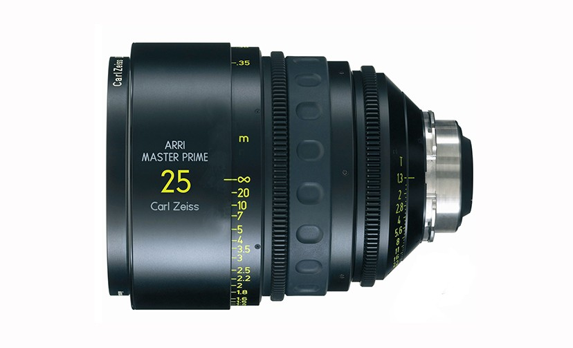 Óptica Arri/Zeiss Super Speed T1.3 25 mm