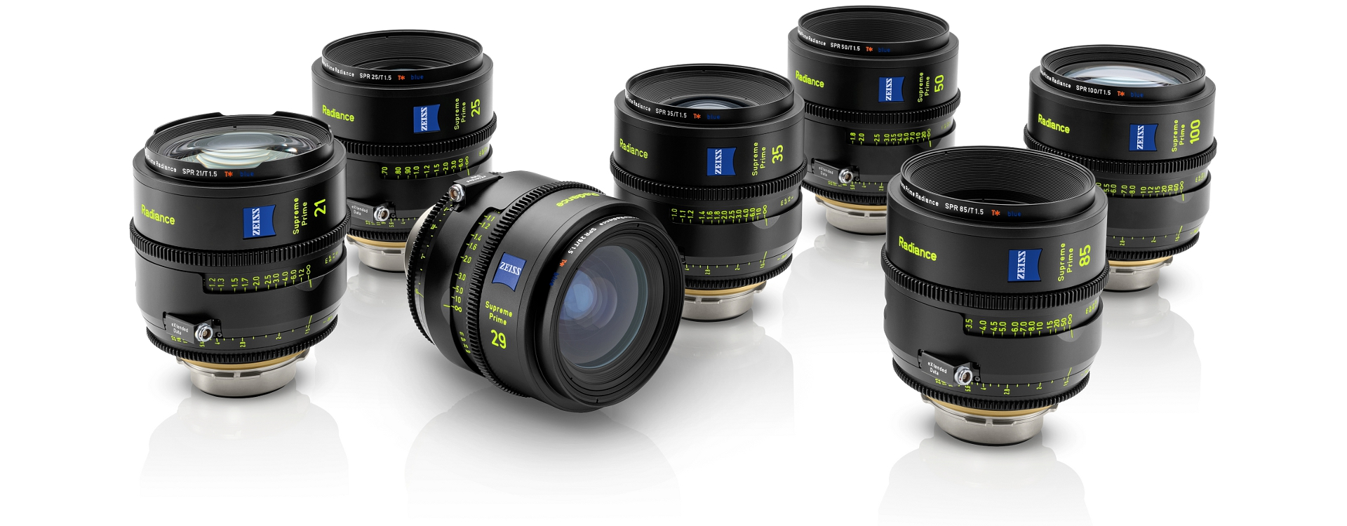 SET ZEISS SUPREME RADIANCE T 1.5 FF